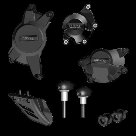 GBRacing Crash Protection Bundle (Race) for Suzuki GSX-R 1000