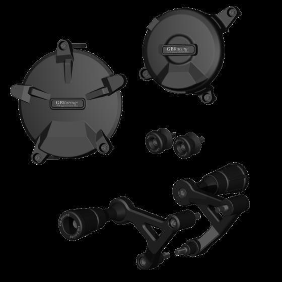 GBRacing Crash Protection Bundle for KTM RC8 / RC8 R 2008 - 2010