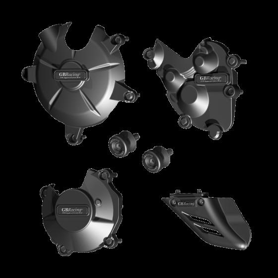 GBRacing Crash Protection Bundle for Kawasaki ZX-6R 2009 - 2013