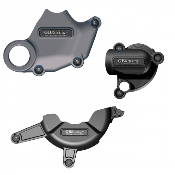 GBRacing Engine Case Cover Set for Ducati 1098 1198 - GB Racing