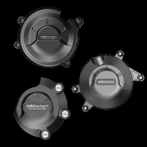 GBRacing Engine Case Cover Set for Honda CBR500R CB500F