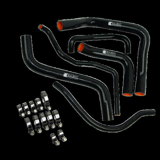 Eazi-Grip Silicone Hose and Clip Kit for Suzuki GSX-R600/750, black