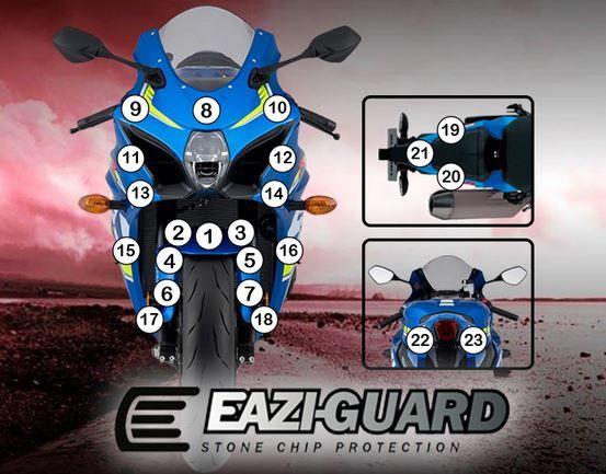 Eazi-Guard Stone Chip Paint Protection Film for Suzuki GSX-R 1000