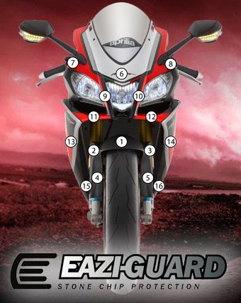 Eazi-Guard Stone Chip Paint Protection Film for Aprilia RSV4 RR RF