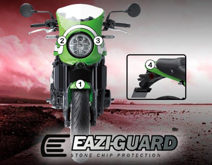 Eazi-Guard Paint Protection Film for Kawasaki Z900RS Cafe