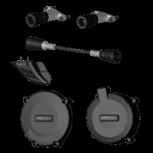 GBRacing Crash Protection Bundle for KTM 990 Super Duke / R 2005 - 2013