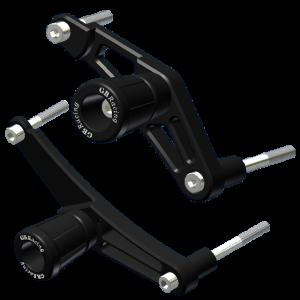 GBRacing Frame Sliders / Crash Knobs for Triumph Daytona 675 Street Triple / R