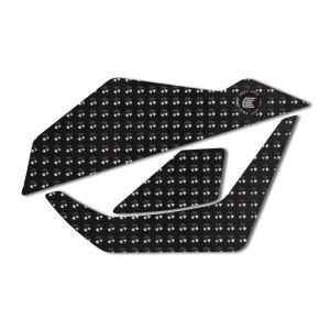 Eazi-Grip EVO Tank Grips for Suzuki Katana, black