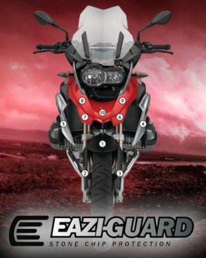 Eazi-Guard Stone Chip Paint Protection Film for BMW R1200GS