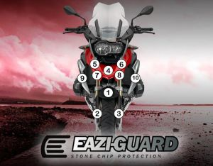 Eazi-Guard Stone Chip Paint Protection Film for BMW R1200GS 2014 - 2016