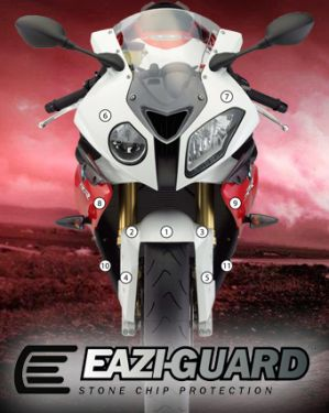 Eazi-Guard Stone Chip Paint Protection Film for BMW S1000RR 2009 - 2014