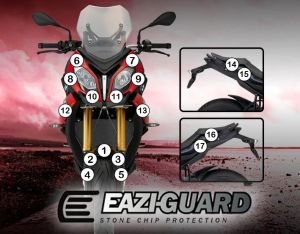 Eazi-Guard Paint Protection Film for BMW S1000XR 2015 - 2018, gloss or matte