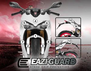 Eazi-Guard Stone Chip Paint Protection Film for Ducati SuperSport