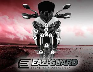 Eazi-Guard Stone Chip Paint Protection Film for Ducati Multistrada 950