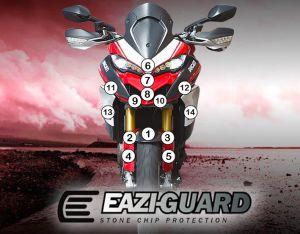 Eazi-Guard Paint Protection Film for Ducati Multistrada 1260 Pikes Peak, gloss or matte