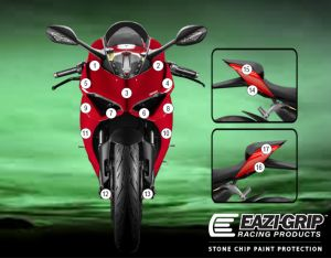 Eazi-Guard Paint Protection Film for Ducati Panigale V2, gloss or matte