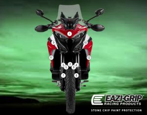 Eazi-Guard Paint Protection Film for Ducati Multistrada V4, gloss or matte