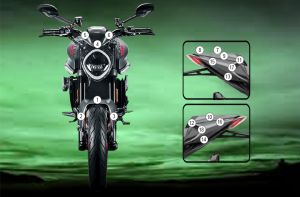 Eazi-Guard Paint Protection Film for Ducati Monster 2021, gloss or matte