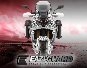 Eazi-Guard Paint Protection Film for Honda Africa Twin 2016 – 2019, gloss or matte