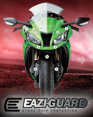 Eazi-Guard Stone Chip Paint Protection Film for Kawasaki Ninja ZX-10R 2011 - 2015