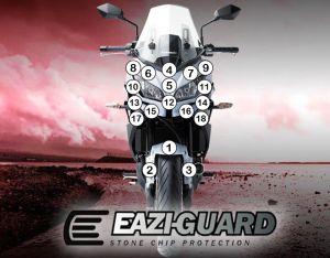 Eazi-Guard Stone Chip Paint Protection Film for Kawasaki Versys 650 2015 - 2017