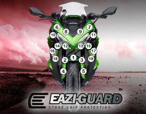 Eazi-Guard Paint Protection Film for Kawasaki Ninja 1000
