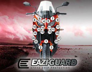 Eazi-Guard Paint Protection Film for Kawasaki Versys 1000