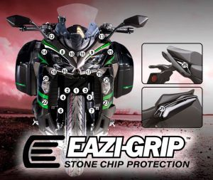 Eazi-Guard Paint Protection Film for Kawasaki Ninja 1000SX, gloss or matte