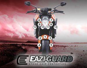 Eazi-Guard Paint Protection Film for KTM 1290 Super Duke R 2014 - 2016