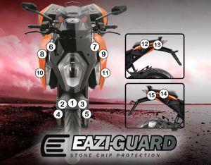 Eazi-Guard Stone Chip Paint Protection Film for KTM 1290 Super Duke GT
