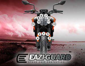 Eazi-Guard Paint Protection Film for KTM 790 890 Duke, gloss or matte