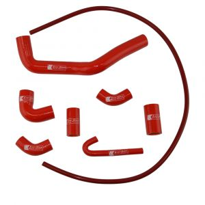 Eazi-Grip Silicone Hose Kit for Ducati Panigale V4, red