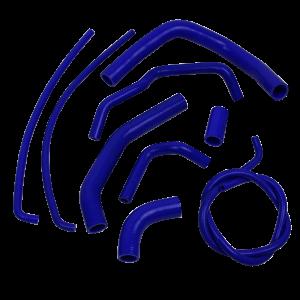 Eazi-Grip Silicone Hose Kit for Kawasaki Z1000 2010 – 2014, blue