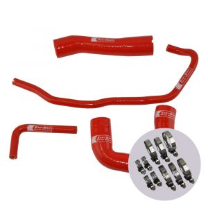 Eazi-Grip Silicone Hose and Clip Kit for BMW S1000RR, red