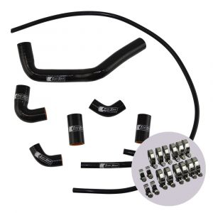 Eazi-Grip Silicone Hose and Clip Kit for Ducati Panigale V4, black