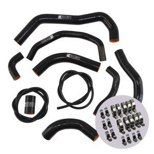 Eazi-Grip Silicone Hose and Clip Kit for Honda CBR600RR 2007 - 2019, black