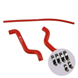 Eazi-Grip Silicone Hose and Clip Kit for Suzuki SV650 2003 – 2014, red