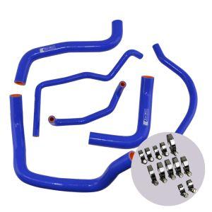 Eazi-Grip Silicone Hose and Clip Kit for Suzuki GSX-R600/750 2011, blue