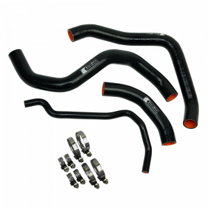 Eazi-Grip Silicone Hose and Clip Kit for Suzuki GSX-R1000, black
