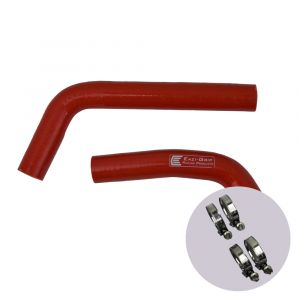 Eazi-Grip Silicone Hose and Clip Kit for Yamaha YZF-R3, red