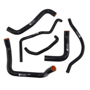 Eazi-Grip Silicone Hose Kit for Suzuki GSX-R600/750, black