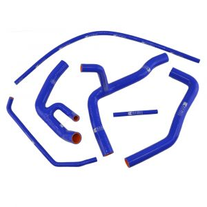 Eazi-Grip Silicone Hose Kit (Race) for Yamaha YZF-R6 2006 - 2019, blue