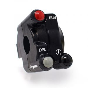 Jetprime Throttle Case with Integrated Switches for Ducati Panigale V4