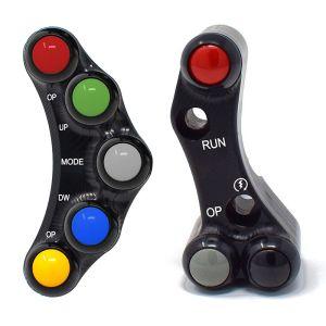 Jetprime Switch Panel Set for Aprilia RSV4 R Factory - Brembo Racing