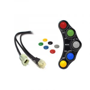 Jetprime Switch Panel LHS for Kawasaki ZX-10R - RACE