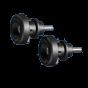 GBRacing 6mm Paddock Stand / Swingarm Crash Bobbin Set for Aprilia