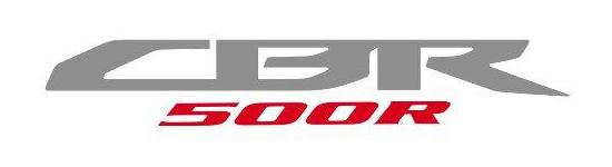 CBR500R Logo