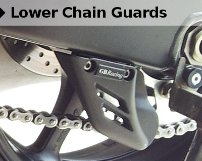 GBRacing Lower Chain Guards