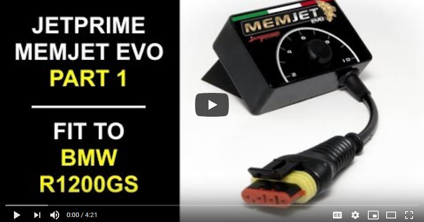 Jetprime Memjet Evo for BMW R1200GS Review Pt1