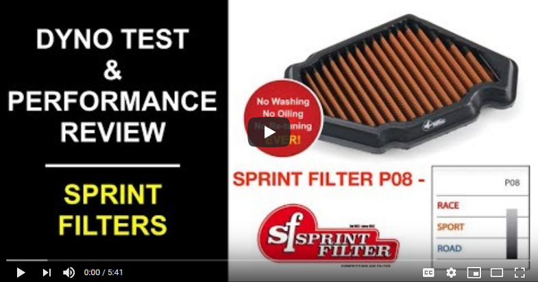 Sprint Filter for BMW S1000RR Review